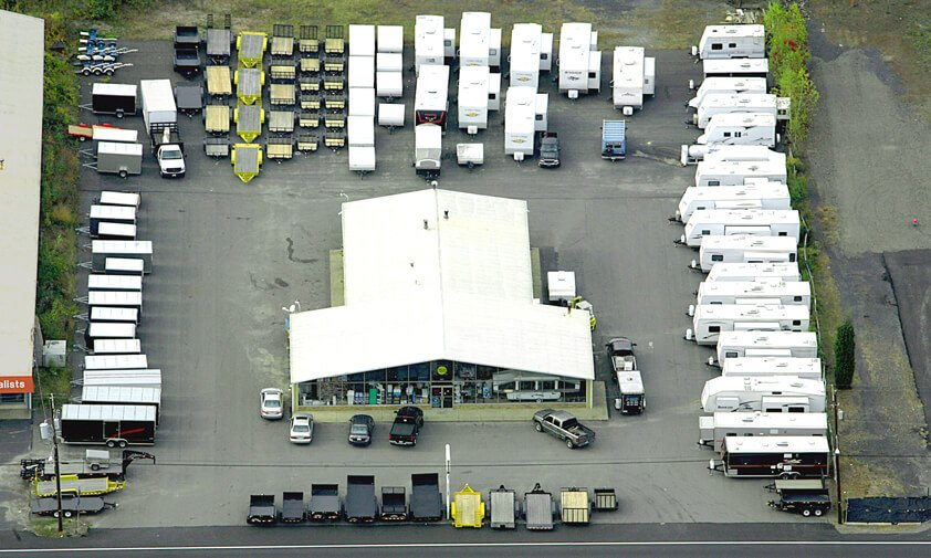 Aerial View of Wide World RV